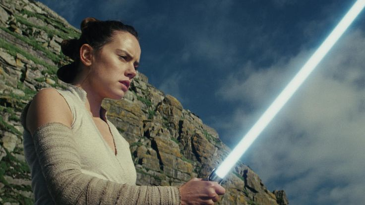 """Daisy Ridley, who stars as the scavenger-turned-warrior Rey in this week's """"Star Wars: The Last Jedi,"""" said women remain a minority among action heroes. """"As a girl growing up in London, I obviously knew there was a disparity.""""But since her debut in the last """"Star Wars"""" movie, 2015's """"The Force Awakens,"""" she's discovered how popular a mighty heroine can be."""