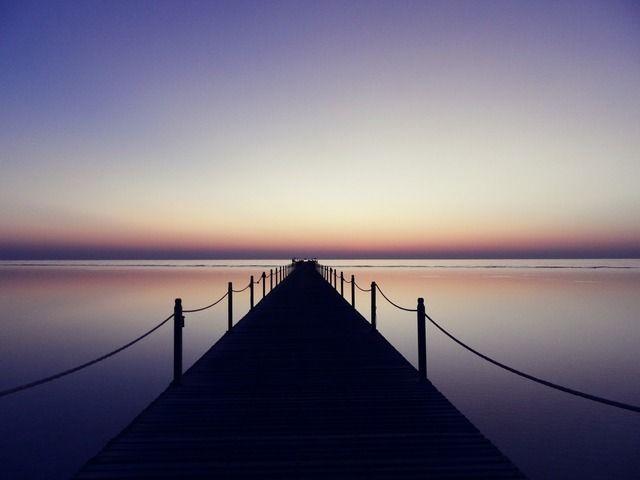Lialima: 5 Uhr in der Früh..Marsa Alam, das Wasser ist spiegelglatt