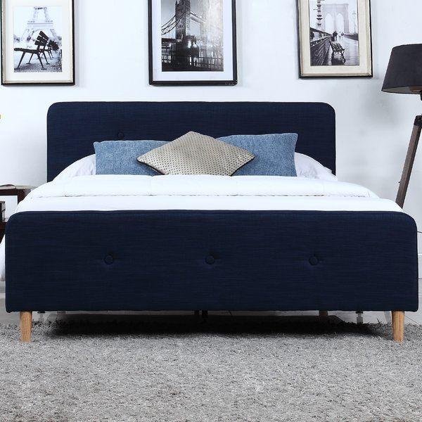Symons Low Profile Upholstered Platform Bed Upholstered Platform