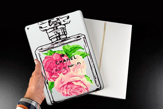 Chanel case for iPad Pro, iPad mini case, iPad Air silicone case, iPad 2/3/4 case, clear silicone case for iPad Pro, back cover for iPad
