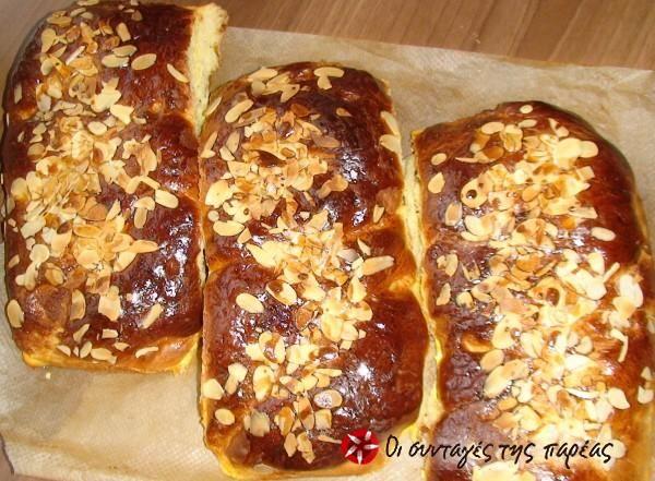 Πασχαλινά Τσουρέκια #sintagespareas,Greek,Easter  cakes( tsourekia)