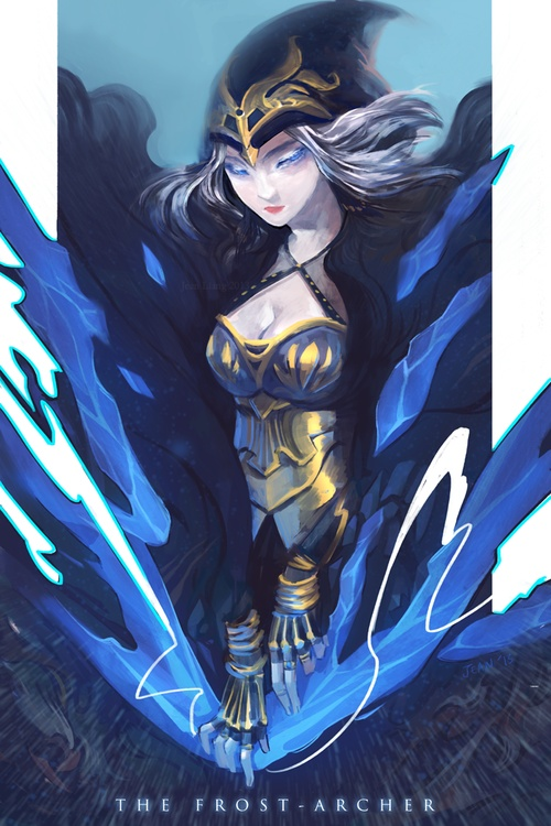 140 best images about #Ashe on Pinterest | Legends, League ...
