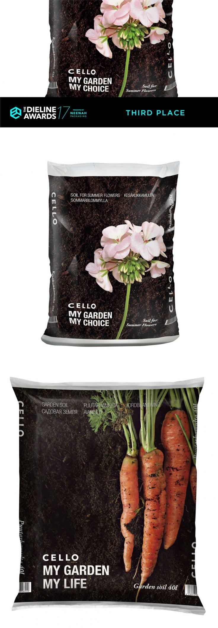 The Dieline Awards 2017: Cello Garden Soils — The Dieline | Packaging & Branding Design & Innovation News