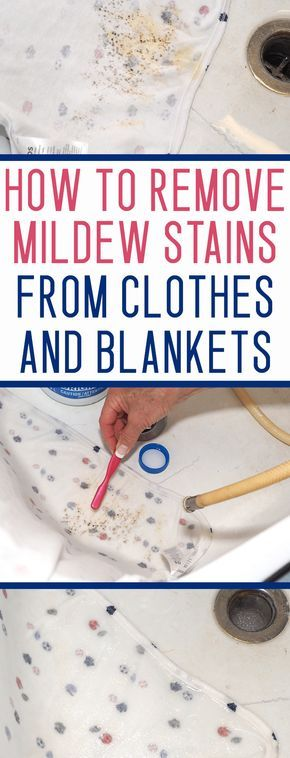 Mildew stains can be VERY tricky - but don't throw away your mildew stained stuff before you try this!