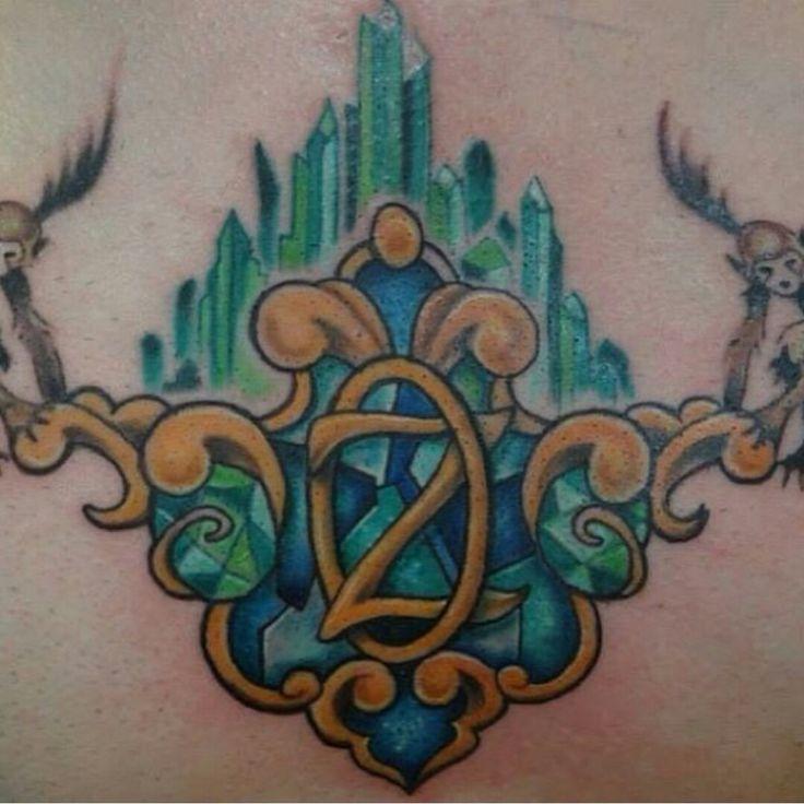Wizard of Oz ink, artist Moses Veliz at Gold Dust Tattoo, Dallas, TX, Instagram sketchmv