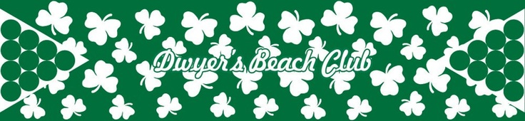 Dwyer's beach club custom beer pong table http://megabeerpong.com/custom-beer-pong-tables-for-sale