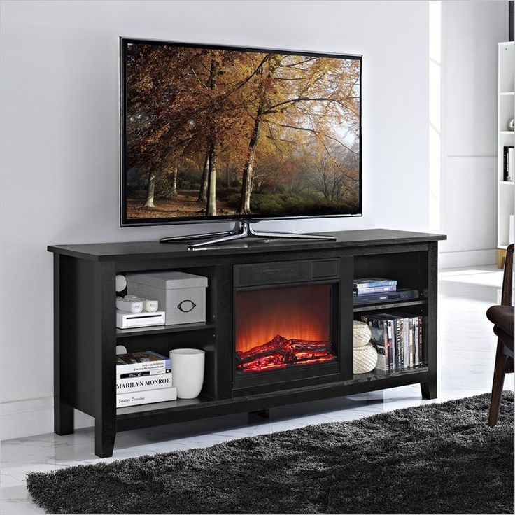 1000+ Ideas About Tv Stand With Fireplace On Pinterest
