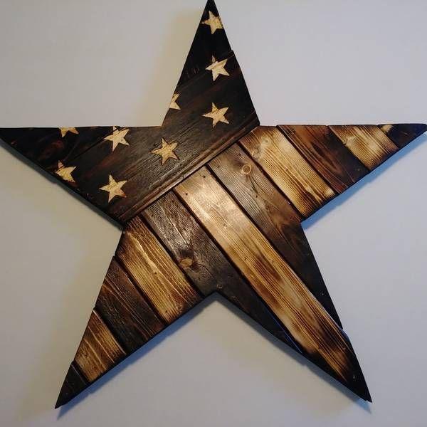 Rustikale Stern-Flagge – RYOBI-Nations-Projekte #WoodWorking