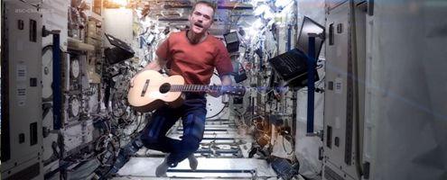 Chris Hadfield, el primer astronauta...