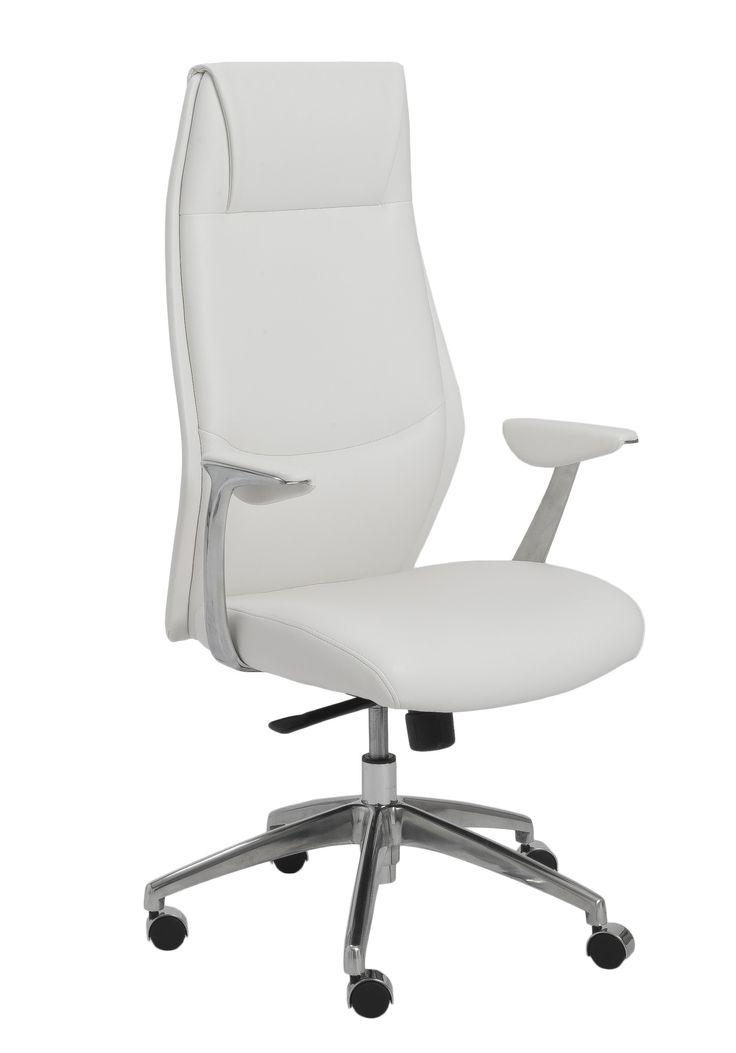 Eurostyle Crosby High Back Leatherette Office Chair With Arms