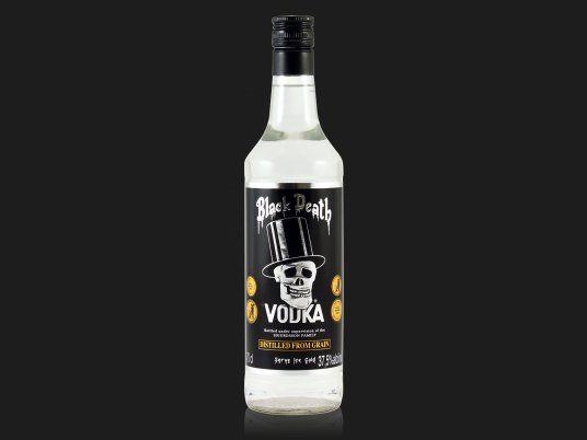 vodka designed   Black Death Vodka 0,7L (37,5% Vol.) - Rock Drinks - Kaufen / Bestellen