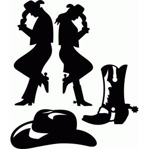 64 best silhouette cowboy images on pinterest silhouette design rh pinterest com cowboy cowgirl silhouette clip art clipart cowboy silhouette