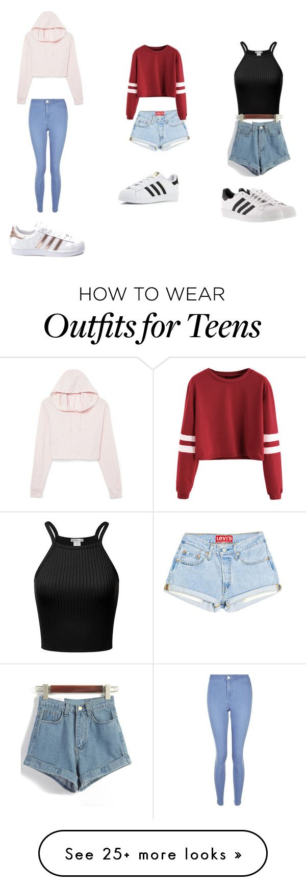 """Untitled #1"" by jaeschketaylah on Polyvore featuring New Look and adidas"