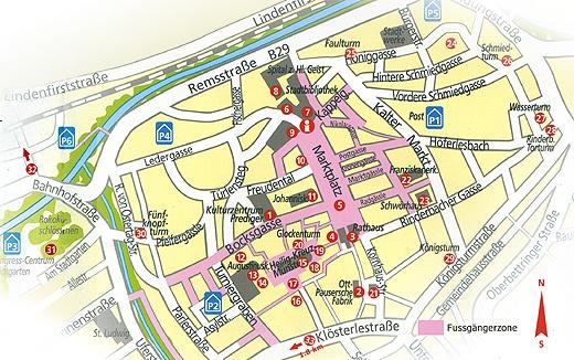 Stadt Schwäbisch Gmünd Stadtrundgang