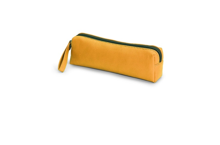 Giorgio Fedon Tombolino Yellow Make Up Bag