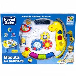 Masuta cu activitati educative pentru bebelusi Noriel Bebe | TimeZ.ro