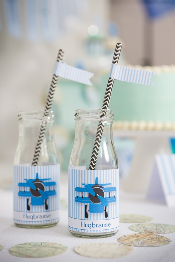 Airplane party by Partyerie  #printables #boysparty #babyshower