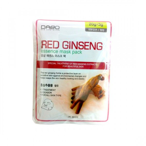 [DABO] Mask Pack Red Ginseng 28g