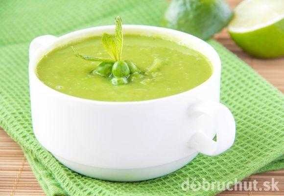 HRÁŠKOVÁ POLIEVKA (čerstvý hrášok, ml. kmín, soľ, sezam)