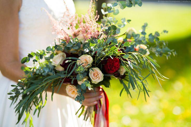 Букет невесты, бохо-букет, бохо свадьба, марсала, Marsala, boho wedding, Marsala wedding, bouquet bride, bride