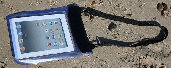 iPad Waterproof Case designed for the iPad but can fit any tablet PC that needs protection and fits in this case (see dimensions). Screen protector also included.