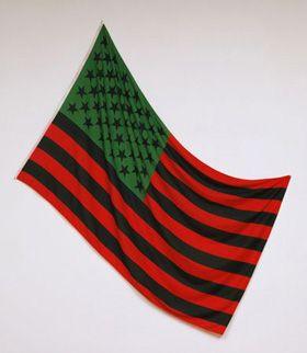 African American Flag, 2004 david hammons