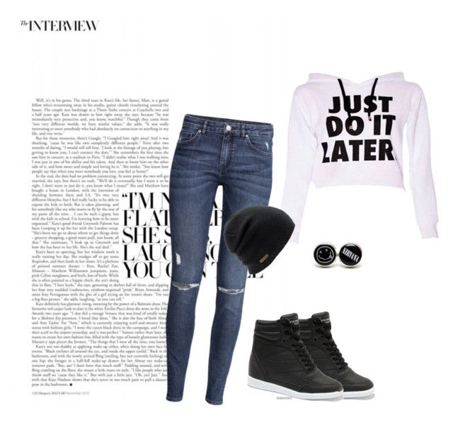 just  do  it  later by stelamahomie on Polyvore featuring H&M and Coal