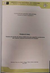 Título: Sistema de lavado de raíces y tubérculos para pequeños productores de cinturón verde de la provincia de Córdoba // Autores : Mugas, Pablo ; Ochoa, Jeremías ; Saavedra, Martín // Trabajo final (Diseñador industrial)--Universidad Nacional de Córdoba, 2015. // Signatura Top: TF0837  (Solicite en Sección Préstamos)