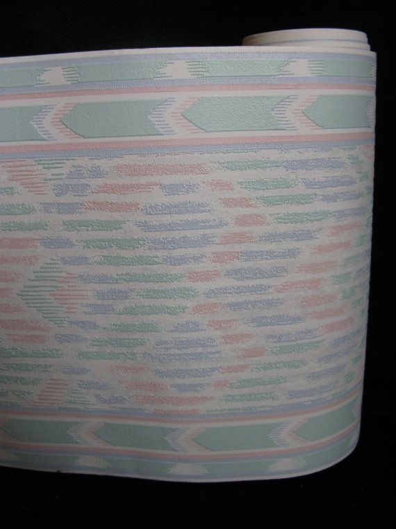 Vintage Pastel Southwestern Wallpaper Borders by SanctuaryofStyle