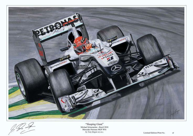 Michael Schumacher F1 Mercedes 2010