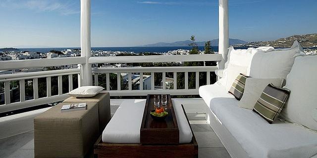 Deluxe Room at Belvedere Hotel, Mykonos