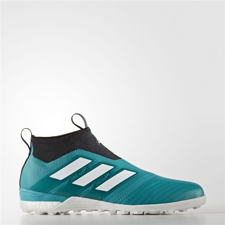 Adidas Ace Tango 17+ Purecontrol EQT Green Turf Shoes (Eqt Green / Running White / Core Black)