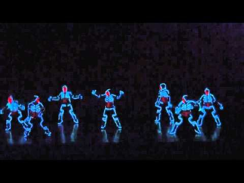 Japan tron dance - YouTube