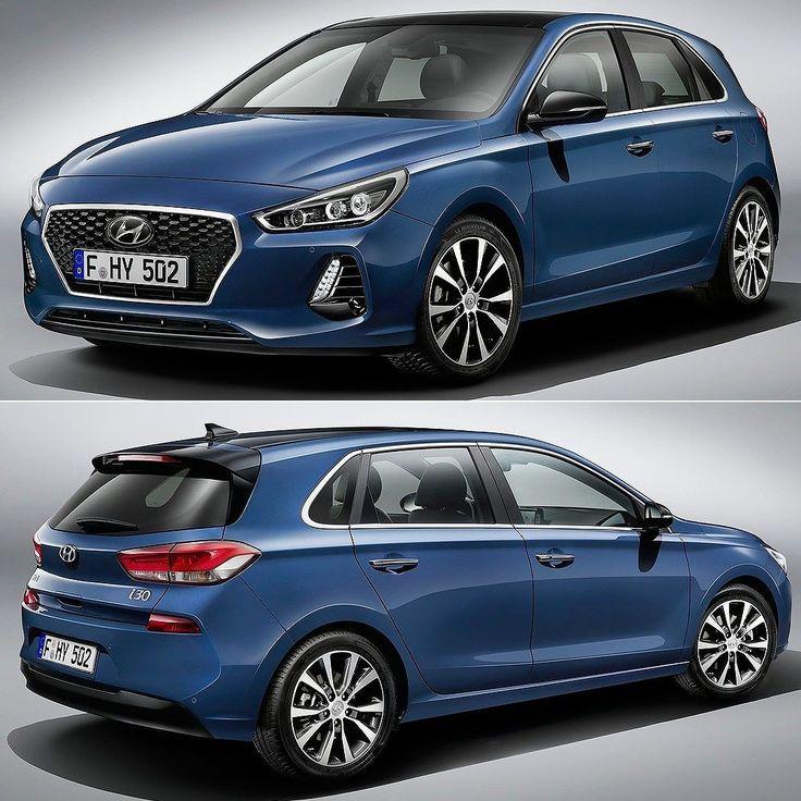 """Hyundai i30 2017 Chega de mistério: eis a nova geração hatch médio coreano. O carro ganho um visual para deixá-lo mais """"premium"""" com detalhes da marca de luxo Genesis. Porém o resultado é um design menos agressivo ao invés dos traços vincados do anterior. Os faróis com três projetores de LED e a grade hexagonal agora são mais trabalhados na parte interna. Na Europa será vendido com três motores a gasolina e um a diesel: Há o novos turbos 1.4 T-GDI com 140 cv 1.0 T-GDI três cilindros com…"""