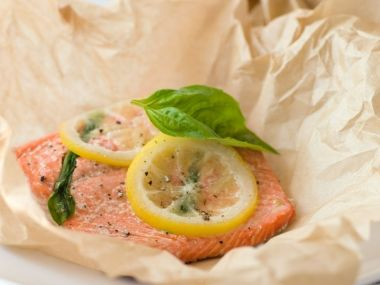 Parchment Baked Salmon with Lemon and Basil | Whole Foods Market