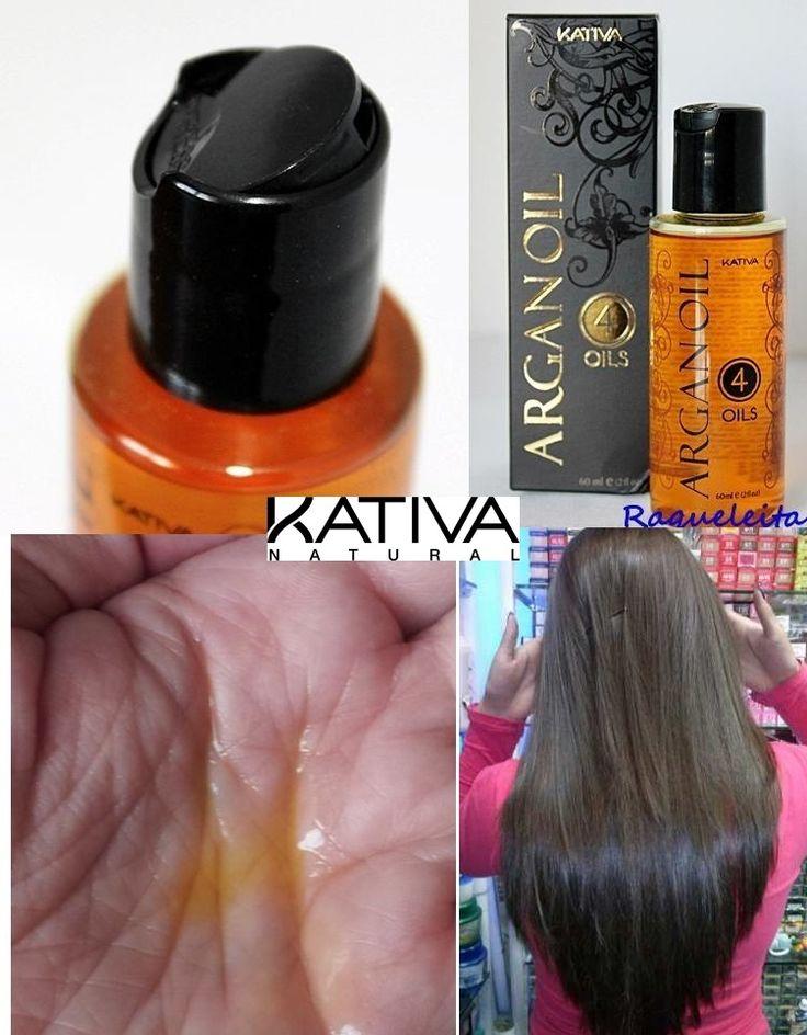 Θεϊκά μαλλιά με τις σειρές περιποίησης Kativa Natural. Kativa Argan Oil 4 Oils για την απόλυτη αναδόμηση 60ml