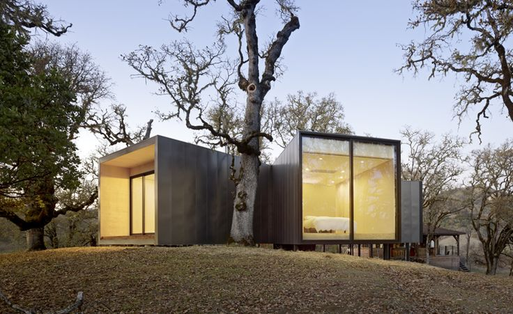 Moose Road House in California, by Mork-Ulnes Architects