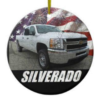 2013 Silverado 2500HD Crew Cab W/T Ceramic Ornament