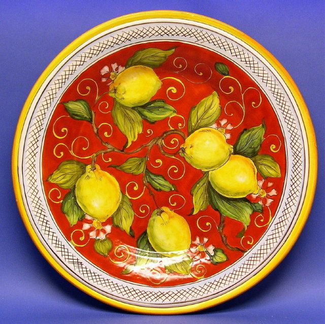 italian lemon bowl