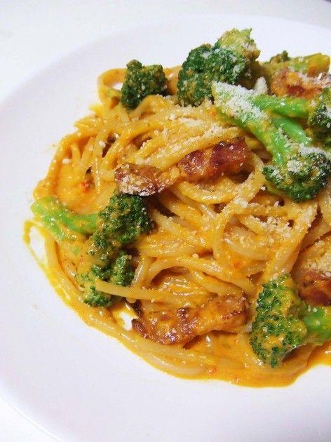 簡単なのにお店のような味に!今回はベーコンとブロッコリーのパスタ★お好みの野菜を使って下さい♪