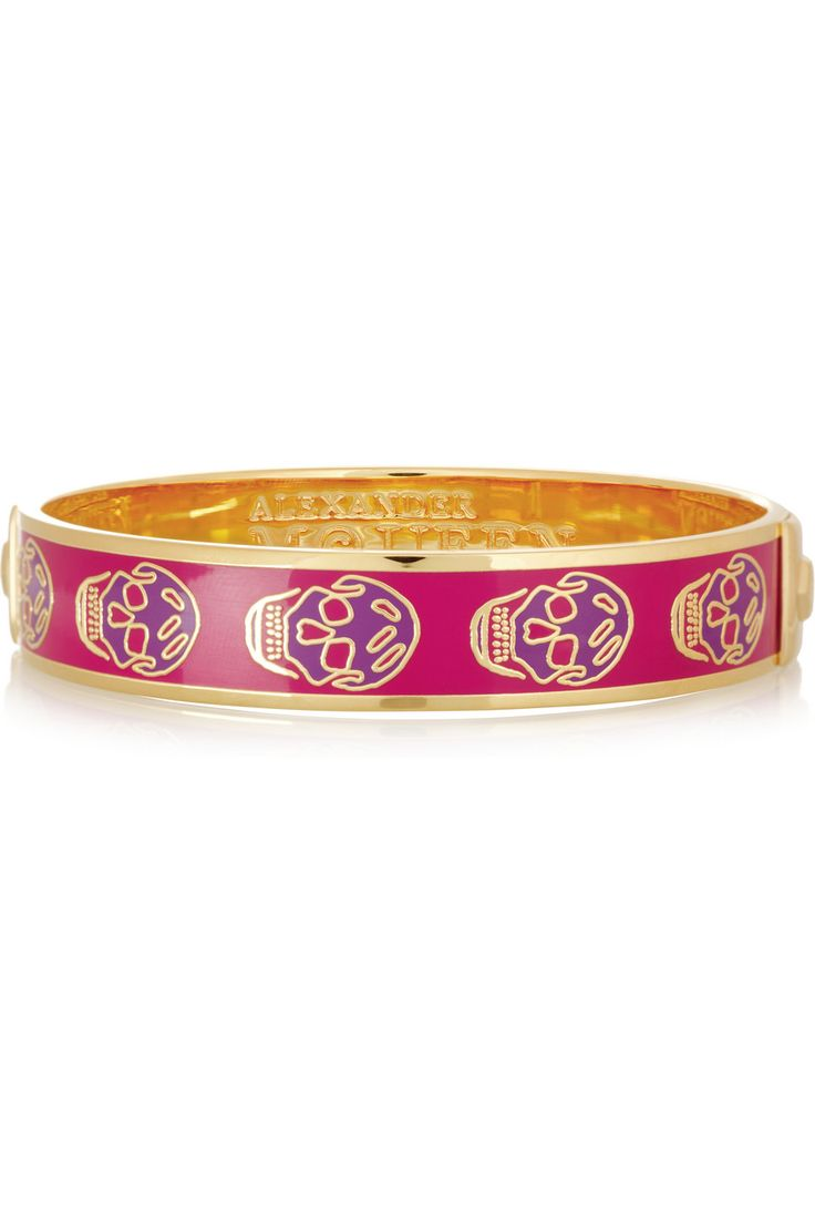 alexander wang skull bracelets