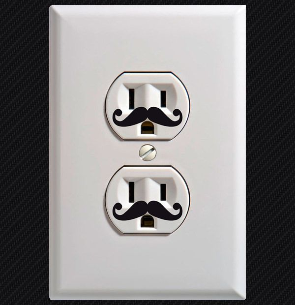 20 creative ways to decorate wall outlets light switch on wall outlet id=23891