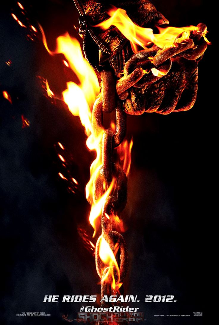 Ghost Rider Flaming Chain Hd Poster Hd Wallpaper Vvallpapernet - Your HD Wallpaper #ID64547 (shared via SlingPic)