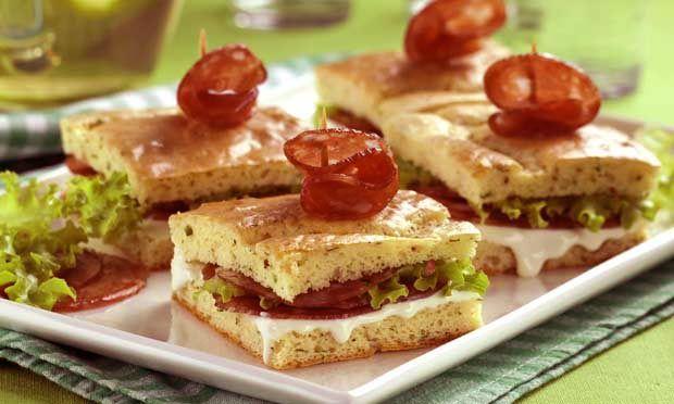 Receitas de sanduíches e lanches para o verão - Culinária - MdeMulher - Ed. Abril
