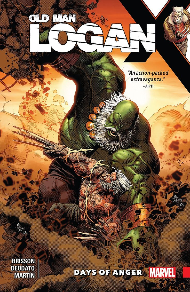 Wolverine: Old Man Logan Vol. 6: Days of Anger by Ed Brisson, art by Mike Deodato #Wolverine