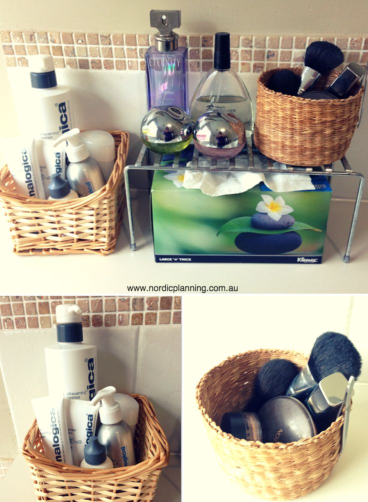 Streamline Your Bathroom Vanity & Makeup - Nordic Planning - Professional Organiser in Perth