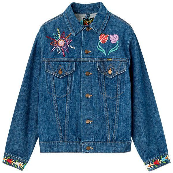 ジャケット ❤ liked on Polyvore featuring outerwear, jackets, coats & jackets and blue jackets