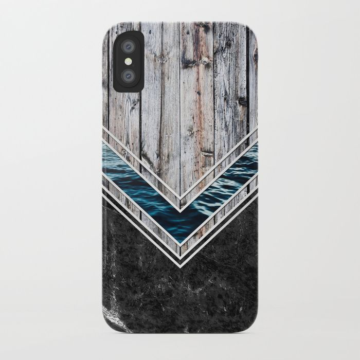 Striped Materials of Nature II iPhone & iPod Case  #wood #wooden #marble #stone #sea #ocean #stripe #stripes #striped #nature #texture #iphone #case