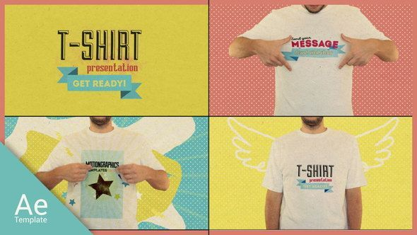 Download T Shirt Opener Videohive 15488015 Videohive After Effects Templates After Effects