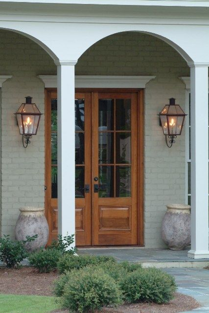 25 best ideas about gas lanterns on pinterest exterior for Oversized exterior french doors